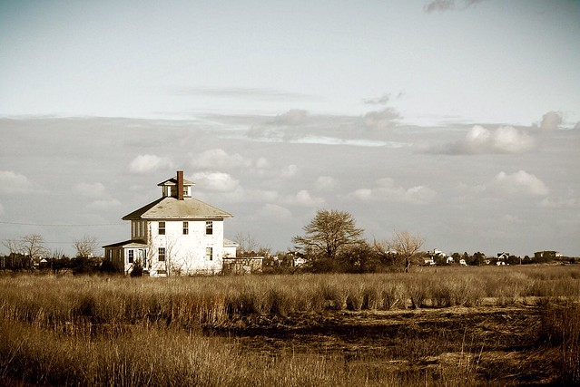 Abandoned home Plum Island
