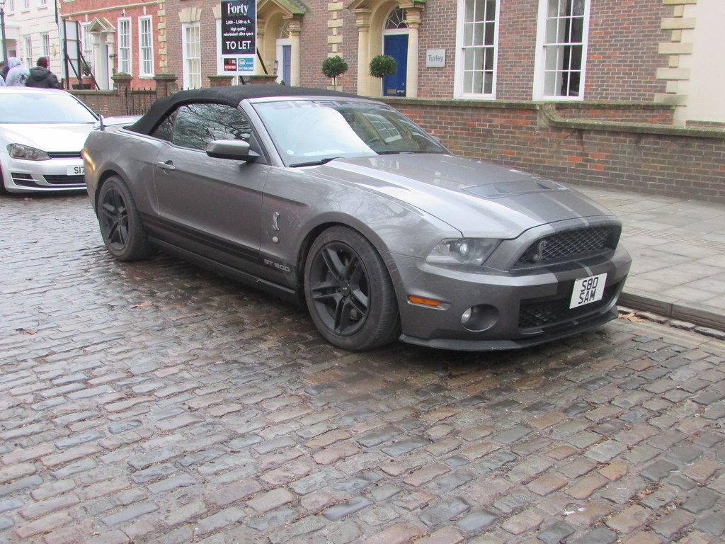 Ford mustang shelby gt500 convertible s80sam by andrew 2 8i
