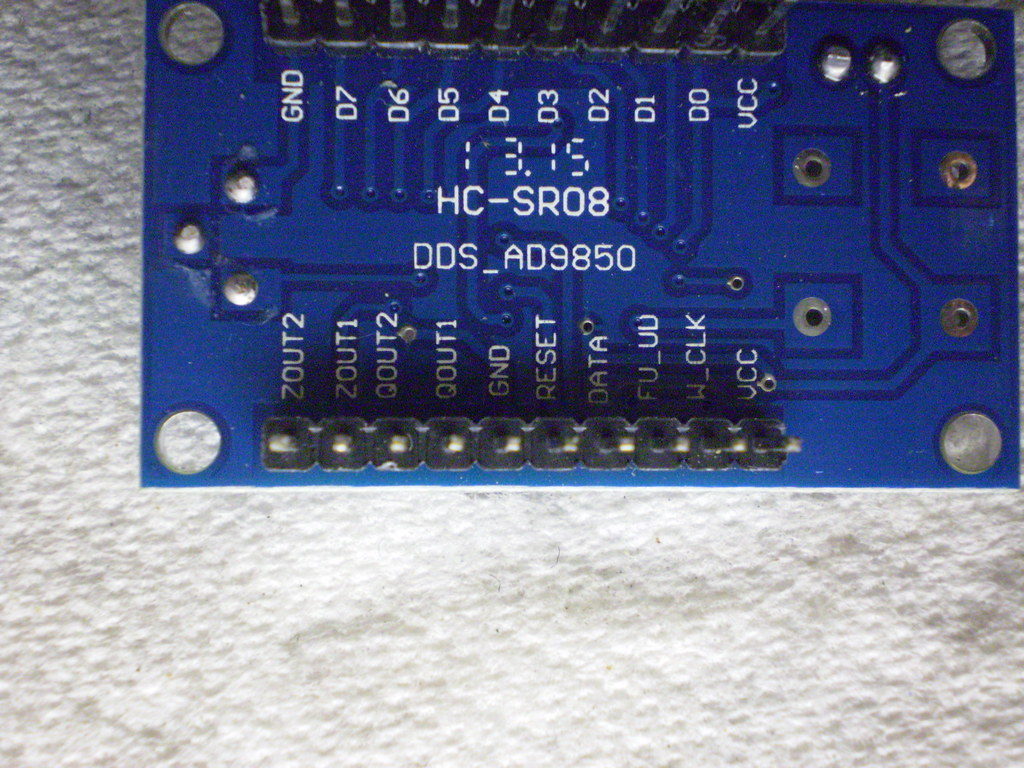 DDS VFO | AD9850, Arduino, LT1253, DDS 1 to 30 MHz VFO