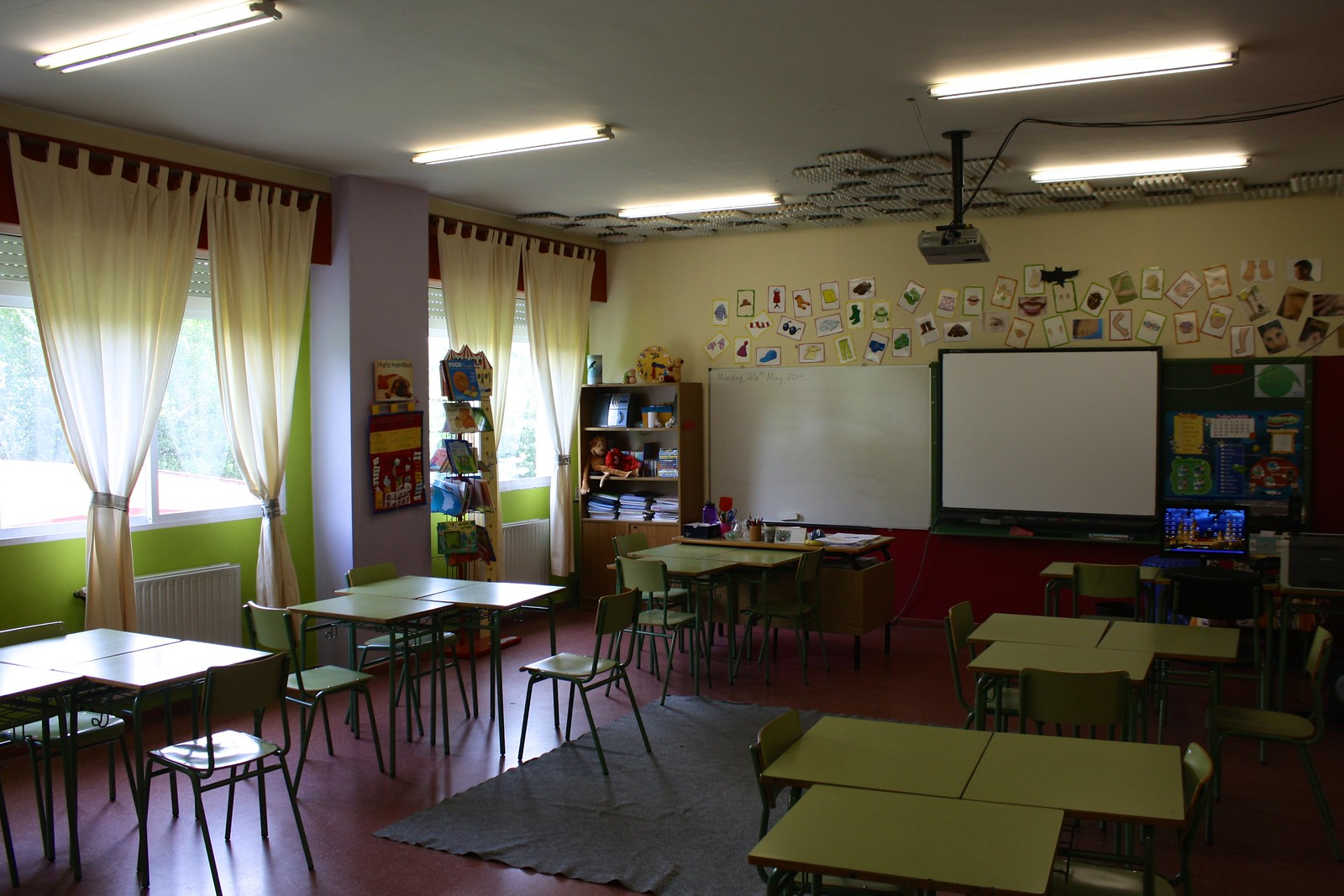 Culture shock at Spanish school