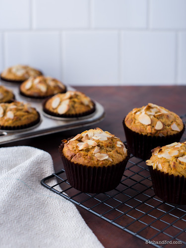 Gluten-Free Carrot Cake Muffins | by 84thand3rd