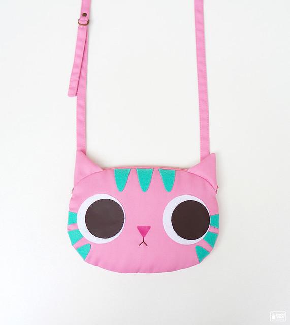 Pinky kitty little cross body bag