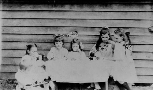 children dolls queensland 1918 statelibraryofqueensland gympie teaparties slq cundith