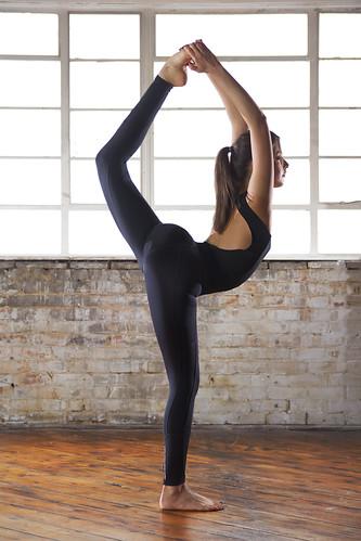 erica yoga  standing yoga pose natarajasana lord of the