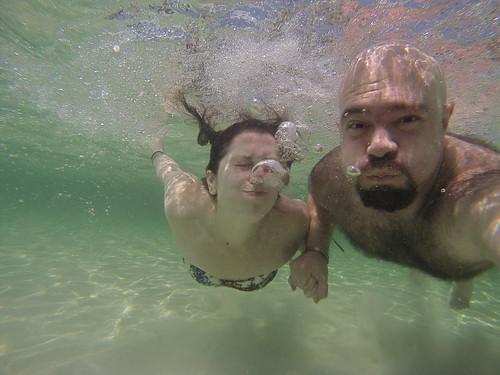 Underwater Selfie | by alnero