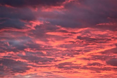 uk pink sky clouds sunrise canon dawn purple astrophotography worcestershire bromsgrove 600d