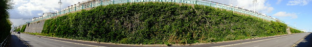 Madeira Drive Green wall finished restoration works