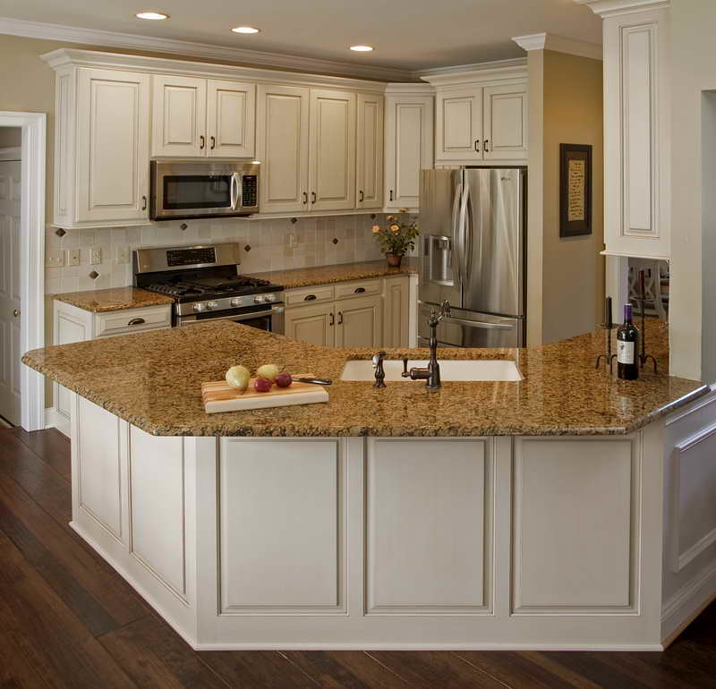 Cabinet Refacing Gallery: Cabinet Refacing In Small Kitchen