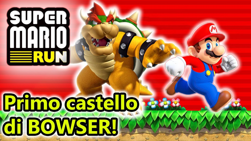 Super Mario Run - Al Castello di Bowser! - Android