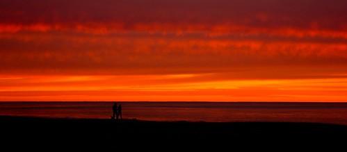 sunset love sunrise australia burleighheads