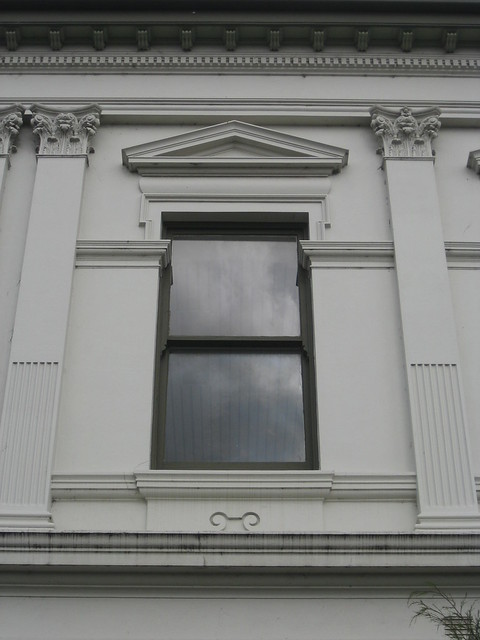 Upper Floor Window Detail of the Former Colac Shire Hall - Murray Street, Colac