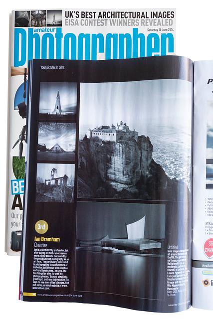 Amateur Photographer magazine 14th June 2014