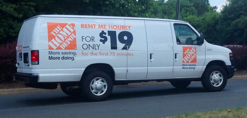 Home Depot Rental Truck Van 7 2014 Pics By Mike Mozart Of Flickr