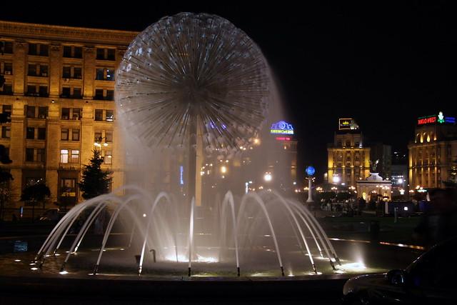 Киев, Украина   Майдан Незалежност
