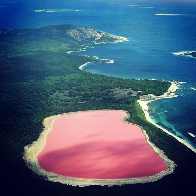 Australia Beautiful Places: RANDOM: Beautiful Places... Lake Hilliard, Australia The P