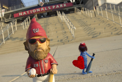 Little gnome fact, little heart man is a Jayson Werth fan! (not to mention a gnome fan) | by Lorie Shaull