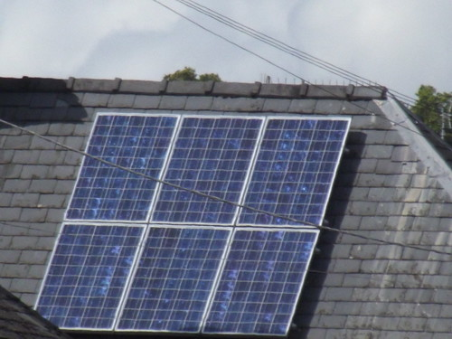 Solar panels - High Street, Bourton-on-the-Water | by ell brown