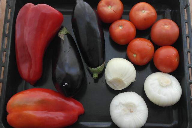 Escalivada de verduras asadas