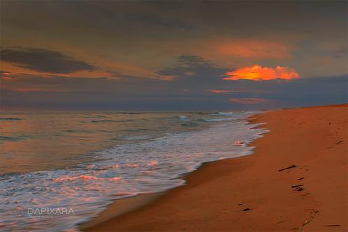 morning travel cloud beach sunrise sand waves stunning nausetbeach