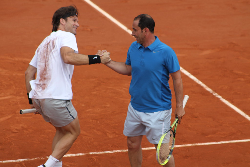 Carlos Moya and Albert Costa
