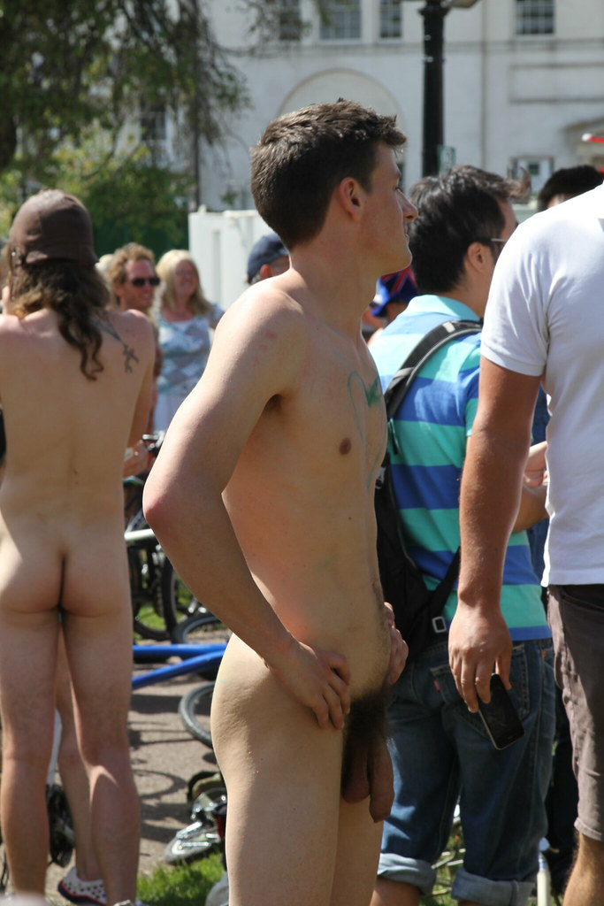 Public nudity men with nice cocks