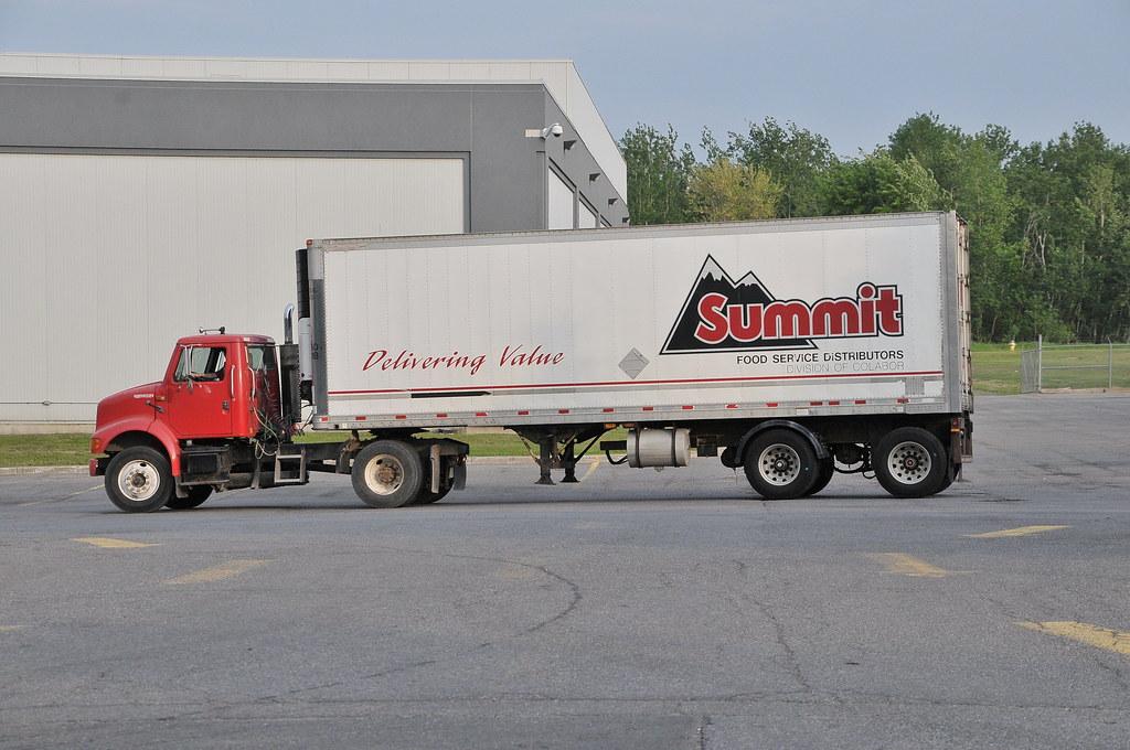 Summit Food Service Distributors International truck and r