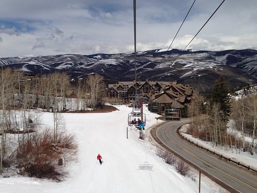 usa ski america colorado resort snowboard beavercreek chairlift bachelorgulch 美國 滑雪場