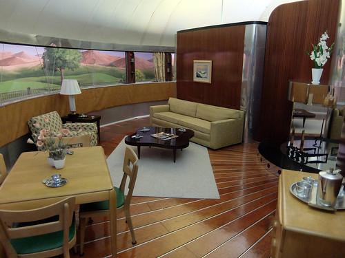 Dymaxion House Interior