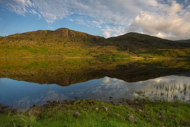 Loch Sealbhanach Reflections.