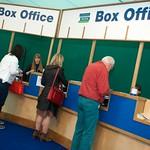 Box Office at the Edinburgh International Book Festival |