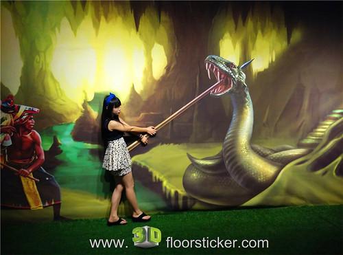 3d exhibition sticker (250) | by 3D floor sticker - YeJun