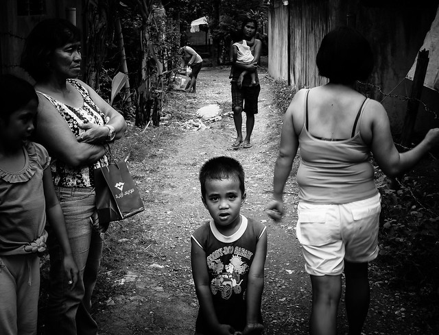 Philippines Life:  urban back alley