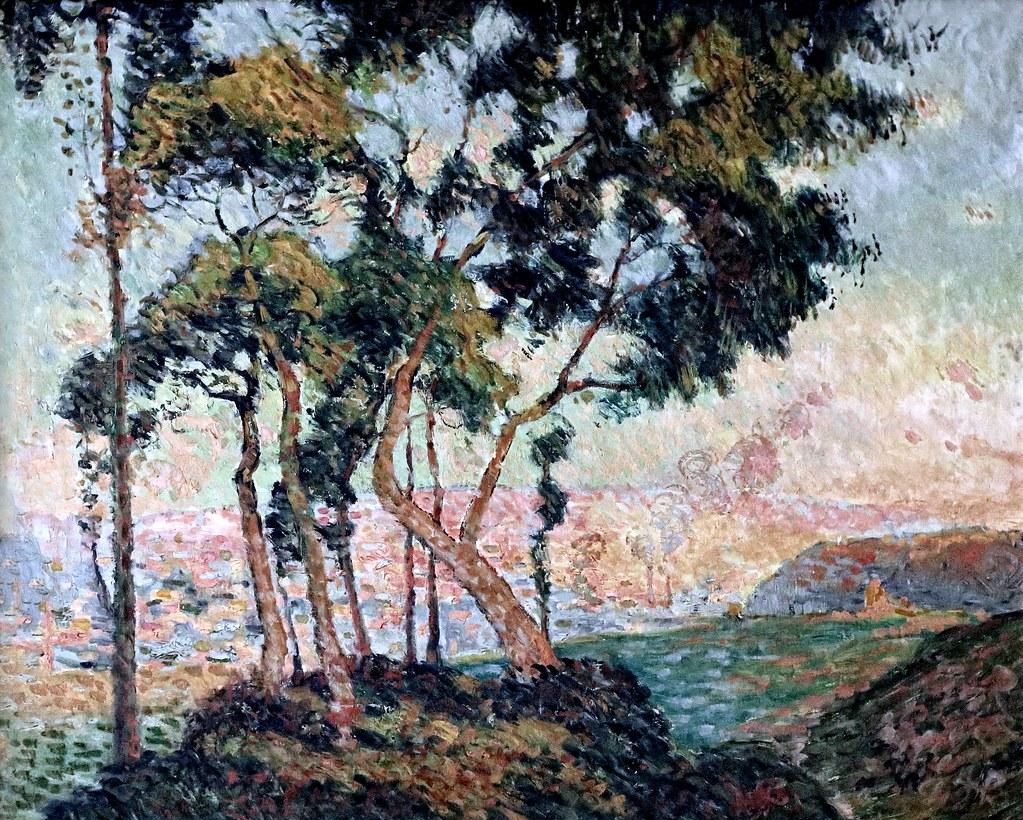 Peintres Ecole De Rouen img_6741 robert antoine pinchon. 1886-1943. École de rouen