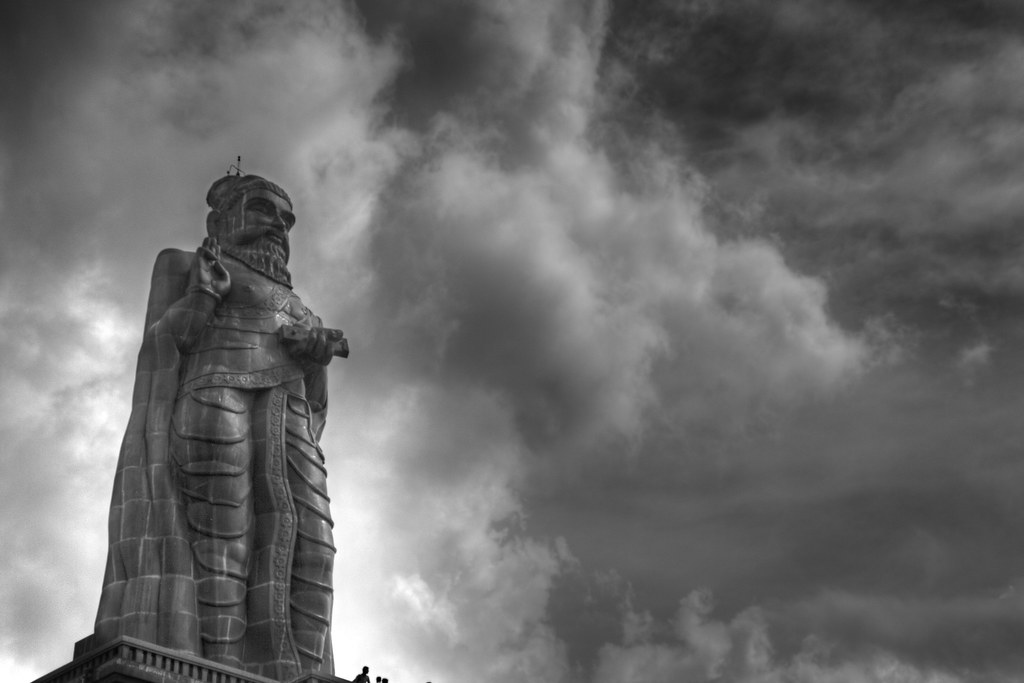 Thiruvalluvar Statue Kanyakumari Better Viewed In