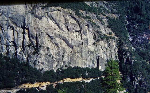 route de Tioga pass yosemite californie sept 1979