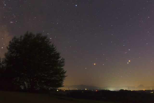 Ares and Antares