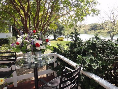 Porch View, Woodlawn Farm, Ridge, MD