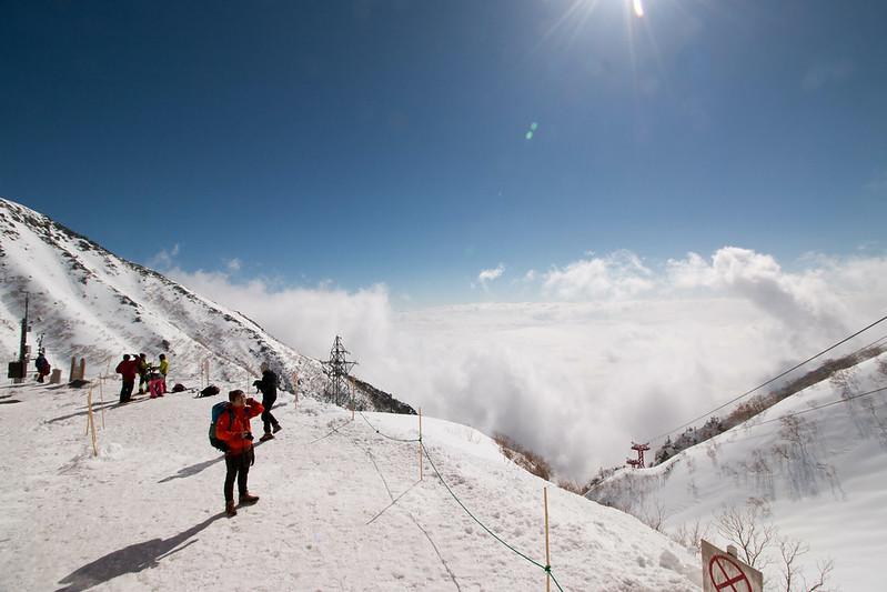 冬の駒ヶ岳ロープウェイ