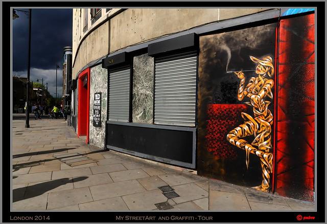 London 2014 - Shoreditch: OSch (Otto Schade)