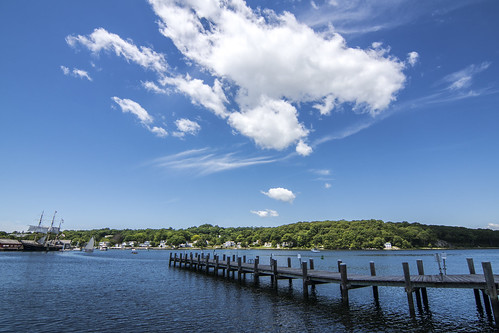 clouds boats day connecticut ct bluesky boardwalk mystic groton mysticriver mysticseaport josephconrad sonyphotographing pwpartlycloudy