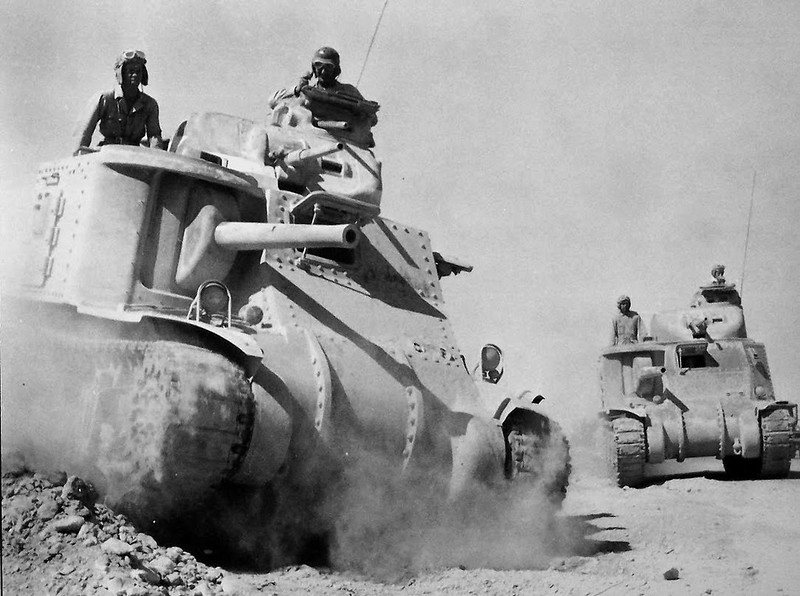 M3 Armored Division in Tunisia
