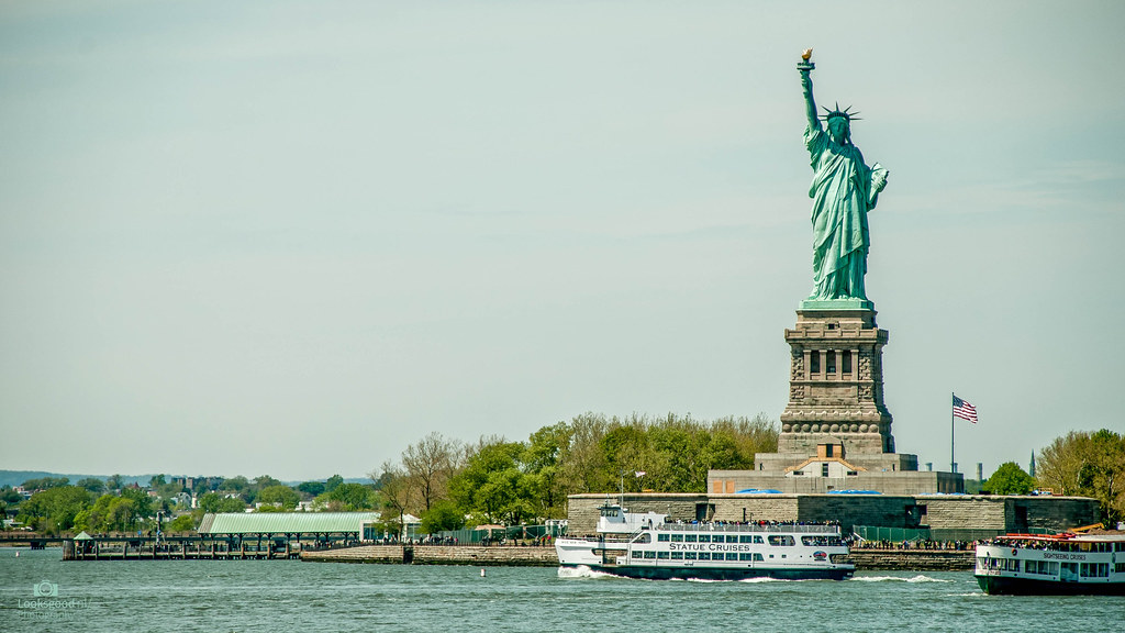 New York Statue Of Liberty 4k Wallpaper Desktop Backgr