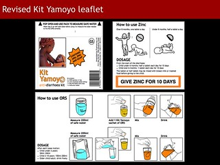 Kit Yamoyo Design Review - revised leaflet | by ColaLife
