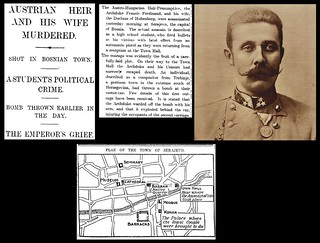 28th June 1914 - Assassination of Archduke Francis Ferdinand of Austria | by Bradford Timeline