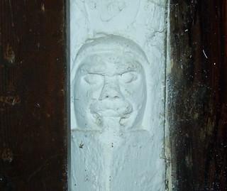 stern face (13th Century)