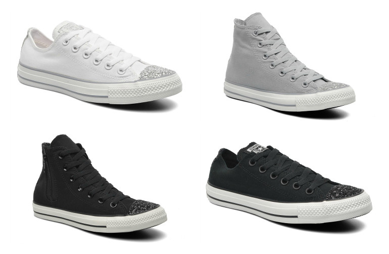 fc3b7a1486025c Converse Chuck Taylor Toe Cap Sparkle   Fashion is a party - a photo ...