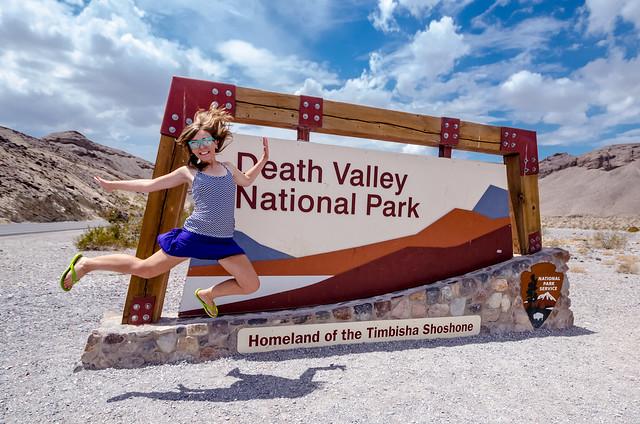 Jump! Death Valley National Park *EXPLORE* 8/20/14
