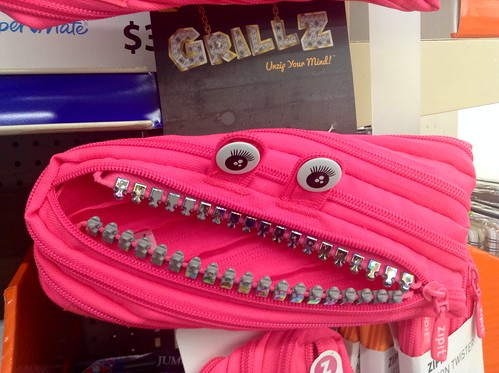Grillz Zipper Teeth Bags, 8/2014 by Mike Mozart of TheToyChannel and JeepersMedia on YouTube. #Grillz #Zipper #Teeth #Bags | by JeepersMedia