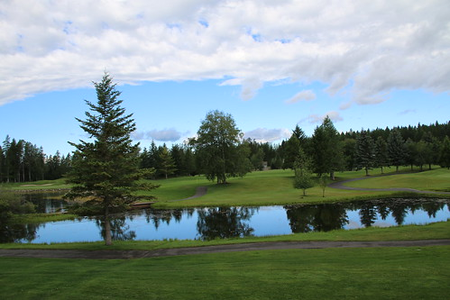 reflection clouds canon landscape montana day golfcourse meadowlake 2014 wildnerness pwpartlycloudy meadowlakeresort