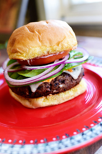 Black Bean Burgers | by Ree Drummond / The Pioneer Woman